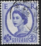 Stamps Europe - United Kingdom -  Isabel II, Postage Revenue, E. R.