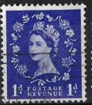 sellos de Europa - Reino Unido -  Isabel II, Postage Revenue.