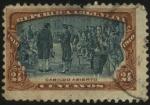 Stamps America - Argentina -  Conmemorativo del centenario de la Revolución del 25 de Mayo de 1810. Cabildo Abierto en Mayo de 181