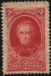 Stamps Argentina -  Conmemorativo del centenario de la Revolución del 25 de Mayo de 1810. El general Cornelio Saavedra y