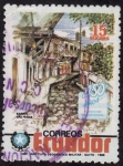 Stamps Ecuador -  450 AÑOS FUNDACIÓN DE GUAYAQUIL(Barrio de las Peñas)