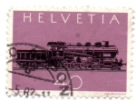 Stamps Switzerland -  1982-CENTENARIO du CHEMIN de FER du ST-GOTHARD