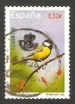 Sellos de Europa - España -  4462 - ave, carbonero común