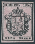 Stamps Europe - Spain -  Escudo de España. - Edifil 29