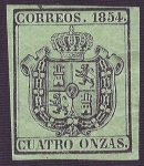Stamps Europe - Spain -  Escudo de España. - Edifil 30