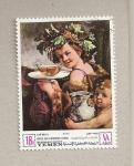 Stamps Yemen -  Preservar monumentos Florencia