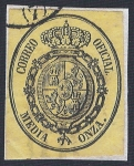Stamps Europe - Spain -  Escudo de España. - Edifil 35