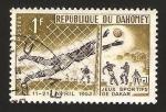 Stamps : Africa : Benin :  Dahomey - Juegos deportivos de la Amistad en Dakar 1963, fútbol