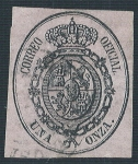 Stamps Europe - Spain -  Escudo de España. - Edifil 36