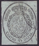 Stamps Europe - Spain -  Escudo de España. - Edifil 37