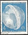 Stamps Chile -  HOMENAJE JF KENNEDY ALIANZA PARA EL PROGRESO