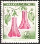 Sellos del Mundo : America : Chile : COPIHUE FLOR NACIONAL