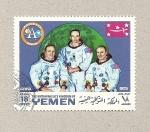 Stamps Yemen -  Misión Apolo
