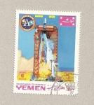 Sellos de Asia - Yemen -  Misión Apolo
