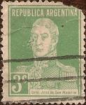 Stamps Argentina -  Gral. José de San Martín