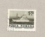 Stamps Romania -  Motonave Transilvania