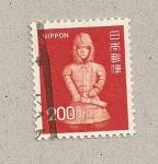 Stamps Japan -  Enterramiento guerrero Ota
