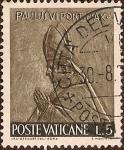Stamps Vatican City -  Serie El Trabajo de la Gente: Papa Pablo VI.