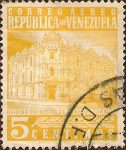 Stamps Venezuela -  Oficina Principal de Correos. Caracas.