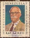 Stamps America - Venezuela -  Dr. José Manuel Nuñez Ponte (1870-1965). Educador.