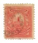 Stamps of the world : Argentina :  Cornetas de correo