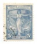Stamps Argentina -  Primer Congreso Postal Panamericano