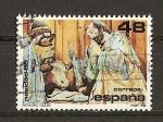 Stamps Spain -  Navidad 86.