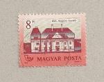 Sellos de Europa - Hungría -  Castillo Szapary