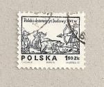 Sellos de Europa - Polonia -  Cacer�a siglo XVI