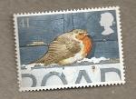 Stamps United Kingdom -  Petirrojos