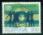 Sellos del Mundo : Europa : Portugal : XXX Aniv. ONU