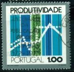 Sellos de Europa - Portugal -  Productividad