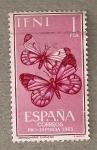 Stamps Spain -  Mariposas
