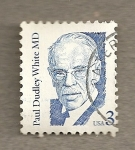 Stamps United States -  Paul Dudley White M.D.