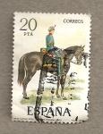 Sellos de Europa - España -  Capitaan artillería
