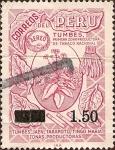 Sellos de America - Perú -  Tumbes, Primera Zona Productora de Tabaco Nacional.