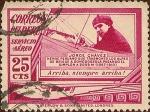 Stamps Peru -  Jorge Chávez (1887-1910)