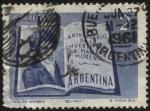 Stamps Argentina -  150 años del fallecimiento del Dr. Mariano Moreno.  1778 - 1811. Abogado, periodista y político de l