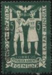 Sellos de America - Argentina -  Cruzada escolar Argentina por la paz mundial.
