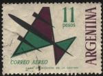 Sellos de America - Argentina -  Correo Aéreo. Sellos para franqueo aéreo o común.