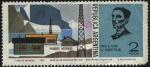 Stamps Argentina -  Pioneros Australes. Hugo A. Acuña 1er agente postal. Base Islas Orcadas del Sur de la Antártida Arge