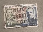Sellos de Europa - España -  Centenario cuerpo Abogados del Estado
