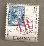 Stamps Spain -  Día Mundial del sello 1967