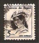 Stamps : America : Brazil :  anita garibaldi