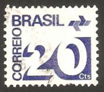 Sellos de America - Brasil -  cifra