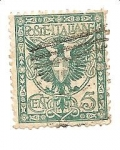 Stamps Italy -  correo terrestre