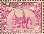 Sellos de America - Per� -  IV Centenario de la Fundaci�n de la Universidad Mayor de San Marcos 1551-1951.