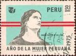Sellos del Mundo : America : Perú : María Parado de Bellido - Año de la Mujer Peruana.