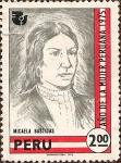 Stamps America - Peru -  Micaela Bastidas - Año de la Mujer Peruana.