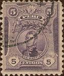 Stamps Peru -  Gral. José de San Martín